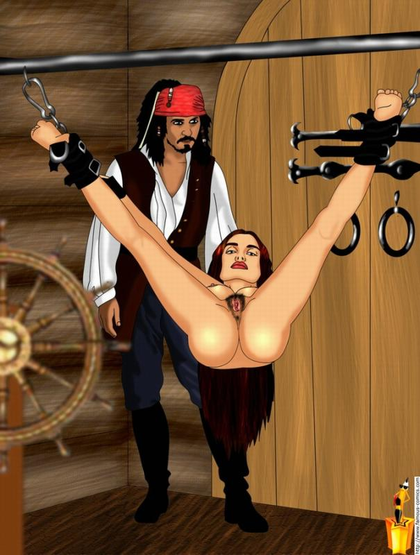 caribbean naked pirates of the Dennis the menace