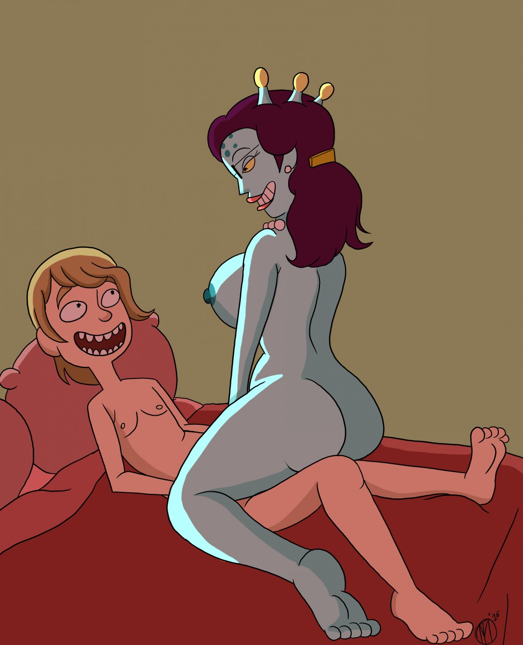 from and summer naked morty rick Sexy pics of poison ivy