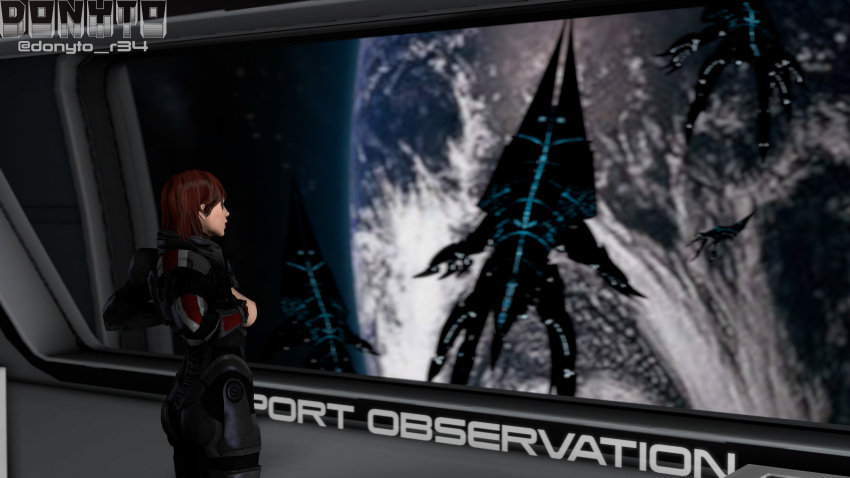 mass effect cora Hitomi is shy with strangers