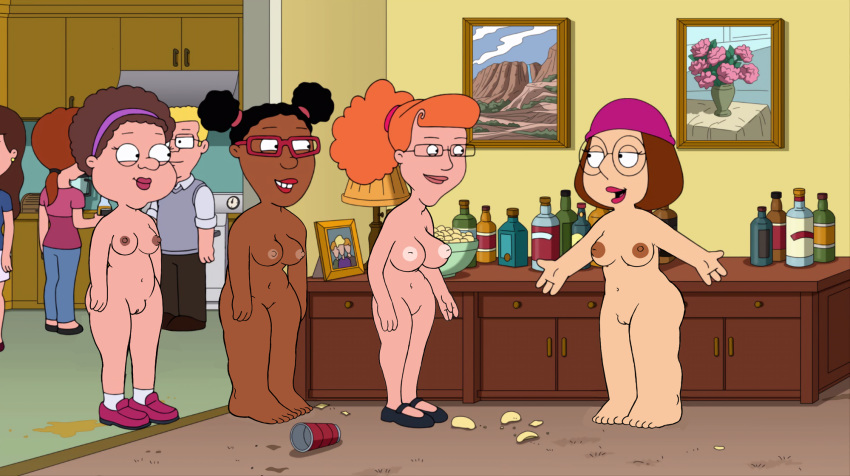 family naked guy from louis Clementine the walking dead
