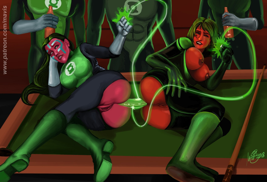 laira, a green lantern All the way through tentacle