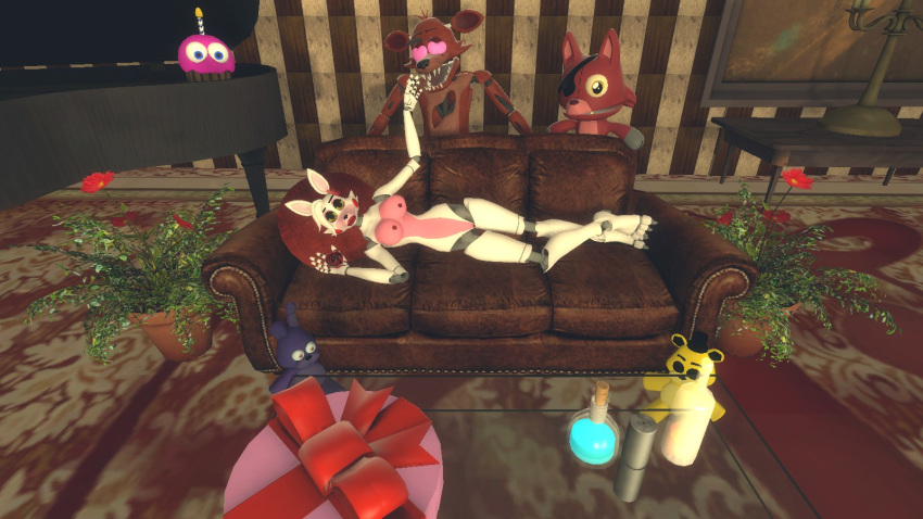 foxy fnaf and fanfiction mangle Last of us nude mod
